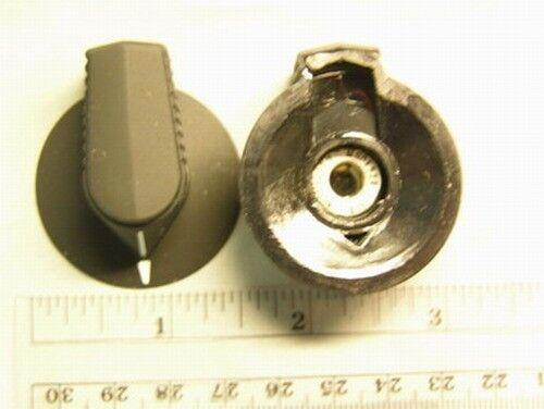 """4 EHC MS91528-1B2B Switch Knobs 1.5""""Dia. 1/4"""" Shaft"""