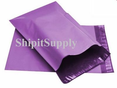 1-1000 10x13 Purple Color Poly Mailers Shipping Boutique Bags Fast Shipping