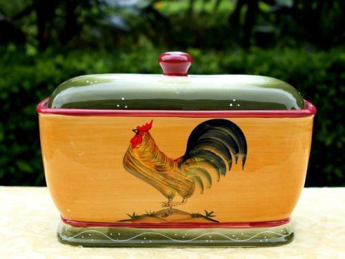 & Ceramic Bread Box   eBay Aboutintivar.Com