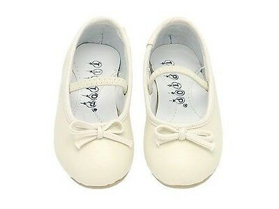 Flower GIRLS KIDS DRESS SHOES Birthday Party Church Wedding Formal IVORY](Ivory Girls Dress Shoes)