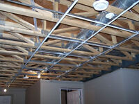 Suspended Dropped Ceiling Commercial in London
