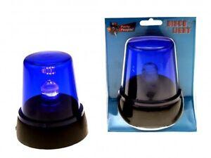 LED PARTY BLAULICHT SIGNAL RUNDUMLEUCHTE WARN LEUCHTE LAMPE PARTYLICHT BLAU NEU