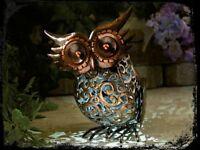 Solar Powered Owl Garden Light