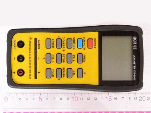 DE-5000 Akitsuki High Accuracy Handheld LCR Meter (auto L.C.R. Check) /DER EE