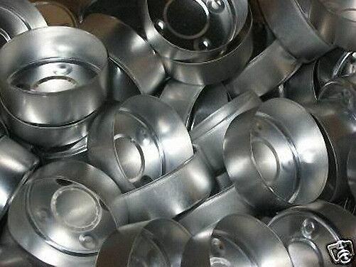 Aluminum TEALIGHT Molds Cups (Lot of 50)