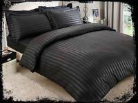 Black Satin Stripe Complete Set