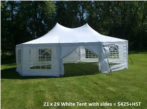 Wedding Tents for Outdoors, Tables, Chairs, Lighting for rent Cambridge Kitchener Area image 6