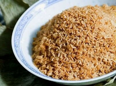 100 LONG GRAIN BROWN WHITE RICE Oryza Seeds *Comb S/H