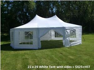 Outdoor Event Tent Rentals, Chairs, Tables, Dance Floor Cambridge Kitchener Area image 7