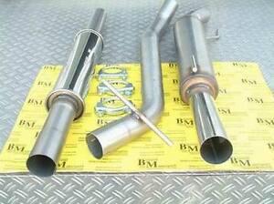 Powersprint Gruppe A Auspuffanlage 60mm für Golf3/1,6/1,8/2,0GTI/2,016V/2,8VR6