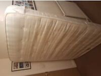 Free Airsprung double mattress. (Collection only) Good condition generally....