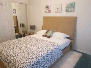 November 1st furnished private room in 2 bedrooms apartment 850