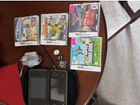Ds xl with games charger,carry bag,2×pen and SD card great condition.