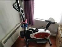 4 in 1Elliptical cross trainer & exercise bike