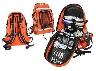 New Emtems Paramedic Firerescue Orange Trauma Gear Backpack Wstar Of Life