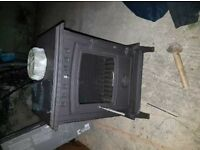 Its a 6 kw brand new burner comes with the coupler and glove