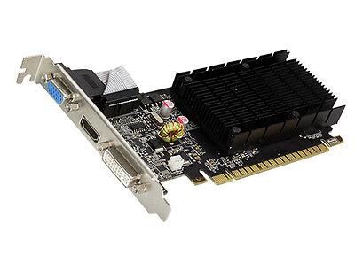 2048 MB ATI Radeon HD 6450 PC Grafikkarte HDMI DVI VGA PCI Express TV 2GB passiv online kaufen