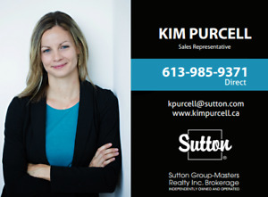 Kim Purcell - Your Trusted Realtor® in the Kingston Area