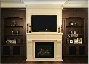 BUILT IN WALL UNITS/ TV STANDS