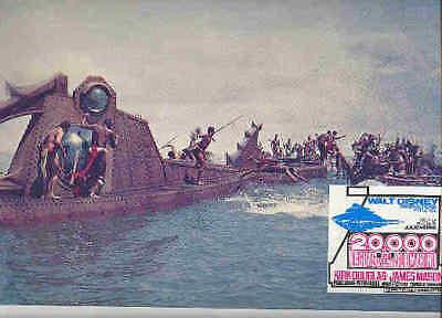 Disney 20,000 Leagues Under Sea Nautilus Battle Lobby Card