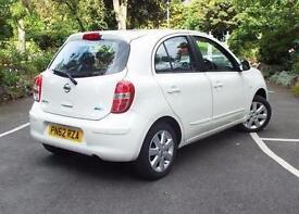 2012 Nissan Micra 1.2 Tekna 5 door Petrol Hatchback