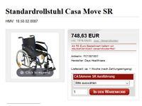Casa Move SR german made wheelchair / DAYS