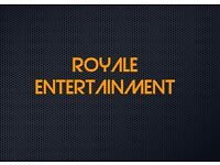 ASIAN DJ AND DHOL PLAYERS, ROYALE ENTERTAINMENT.