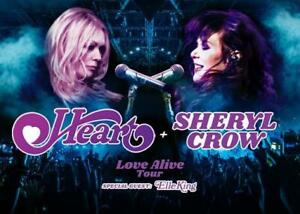 647-642-3137 Heart Tickets Sheryl Crow Tickets Toronto July 14 Lawn Seats $49.99
