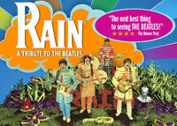 RAIN x1 x2 x3 x4 ((( Beatles Tribute ))) ~ FRIDAY MARCH 11th