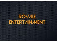 DJ AND DHOL PLAYERS, ROYALE ENTERTAINMENT.