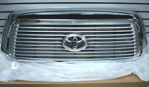Toyota Tundra Limited Platinum Chrome Grille Genuine OE OEM