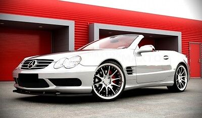 carbon Spoilerlippe Frontspoiler Diffusor für Mercedes SL R230 AMG Bj. 01-06