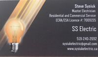Electrical Services - SS Electric -Reliable Quality Workmanship