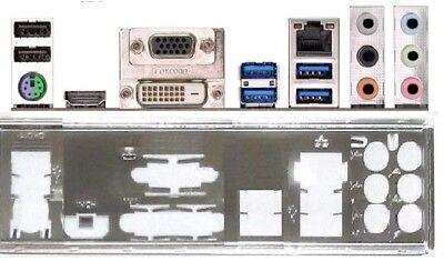 ATX Blende I/O shield ASRock Z97 Pro3 #874 io new NEU OVP bracket backplate