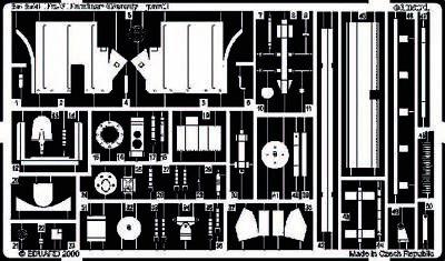 Eduard Accessories 35354 - 1:35 Panther G Sd.Kfz. 171 Detailsatz Frühe Version F