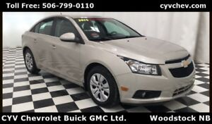 2014 Chevrolet Cruze 1LT - Rear Camera & Remote Start