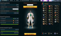 RuneScape Completionist Account over 1 billion xp + 4 120 capes