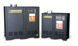 KARCHER NATURAL GAS/PORTABLE/STATIONARY HOTWATER PRESSURE WASHER
