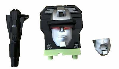 Free ship 2 USA Toy World G1 Green Devastator Constructor Head upgrade kit