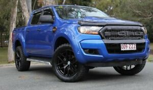 2017 Ford Ranger PX MkII XL Blue 6 Speed Sports Automatic Cab Chassis Southport Gold Coast City Preview