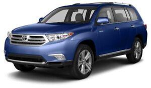 2013 Toyota Highlander V6 AUTO; AIR; ALLOYS; BLUETOOTH; REAR...