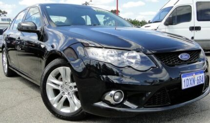 2011 Ford Falcon FG MkII XR6 Black 6 Speed Sports Automatic Sedan Bellevue Swan Area Preview