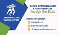 Lifestyle Personal Training Services. Free Online Consultation!!