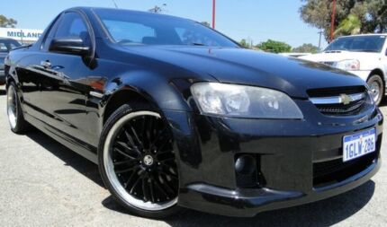2007 Holden Ute VE SS Black 6 Speed Manual Utility Bellevue Swan Area Preview