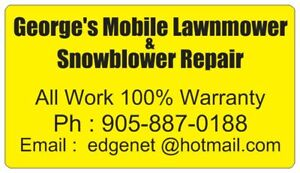 SnowBlower & Lawnmower Repair Service at Your Home 905-887-0188