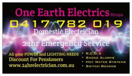 Electrician  One Earth Electrics