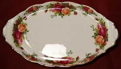 1962 Royal Albert OLD COUNTRY ROSES England Tray for Creamer & Sugar