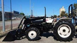TRACTORAMA 2 X MITSUBISHI 38HP TRACTOR/FEL Welshpool Canning Area Preview
