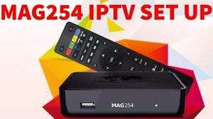 MAG254 WITH DUAL BAND WIFI** BEST PRICE 5000+ CHANNELS