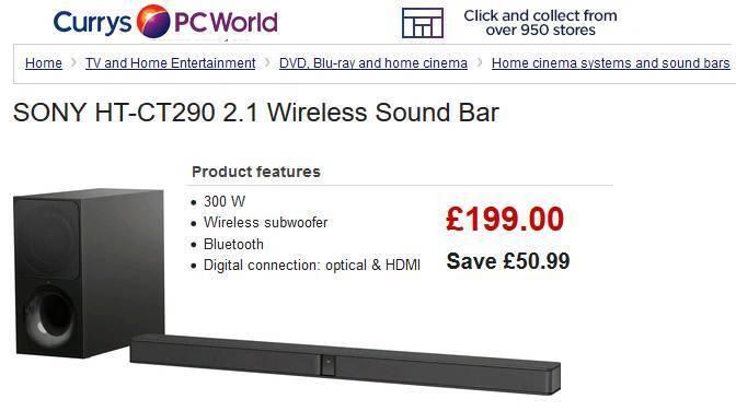 Sony Soundbar (unwanted gift) Grab a Bargain